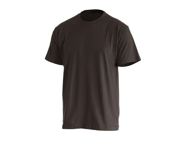 Shirts & Co.: T-Shirt + braun