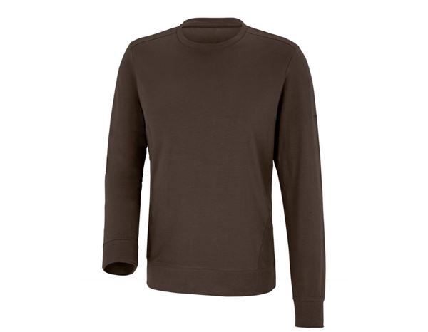 Shirts & Co.: Longsleeve + kastanie