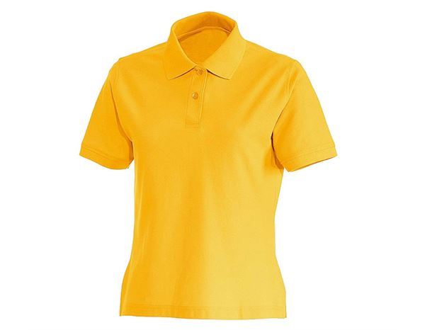 Shirts & Co.: Damen Polo-Shirt + gelb