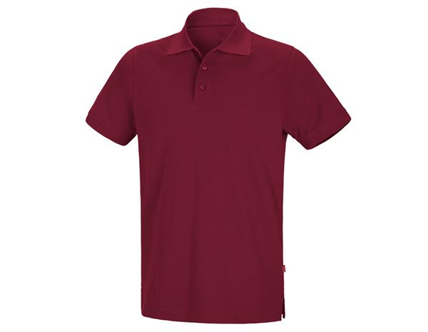 Polo-Shirts: Polo-Shirt + bordeaux
