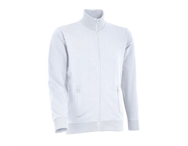 Pullover: Sweat-Jacken + weiß