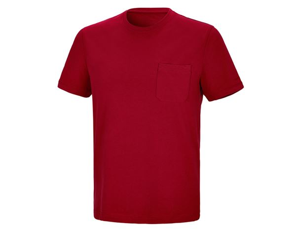 Shirts & Co.: T-Shirt + feuerrot