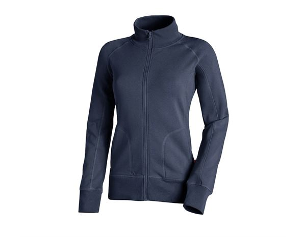 Shirts & Co.: Damen Sweatjacke + dunkelblau