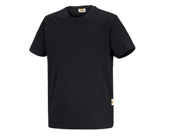 Shirts & Co.: STONEKIT T-Shirt Basic + schwarz