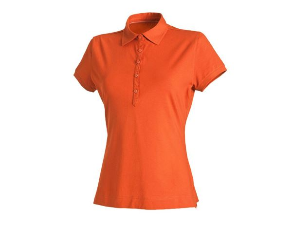 Shirts & Co.: Damen Polo-Shirt + nektarine