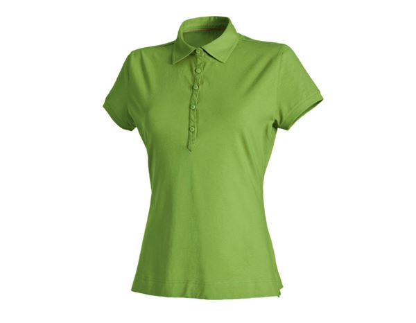 Shirts & Co.: Damen Polo-Shirt + seegrün