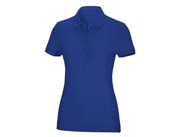 Shirts & Co.: Damen Polo-Shirt + kornblau