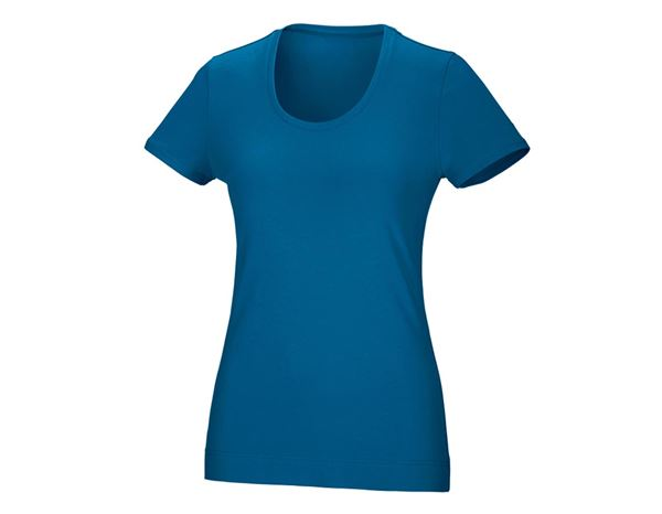 Shirts & Co.: Damen T-Shirt, rundhals + atoll