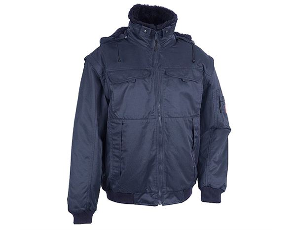 Jacken: 4-in-1 Pilotenjacke + blau