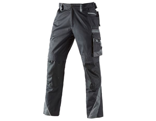 Hosen: Bundhose motion + graphit/zement