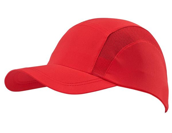 Accessoires: Funktions-Cap + rot